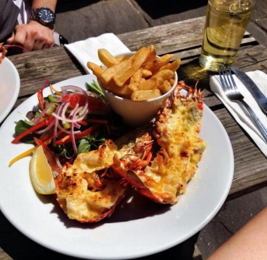 The Alma Inn Harwich Local Lobster